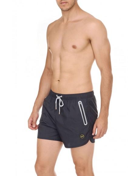 Short F**K tasche zip termosaldate