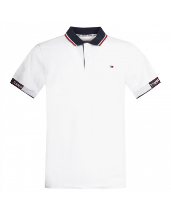 TOMMY JEANS POLO JACQUARD