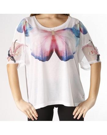 """GUESS t-shirt """"farfalla"""""""