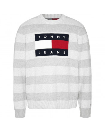 TOMMY JEANS maglia flag
