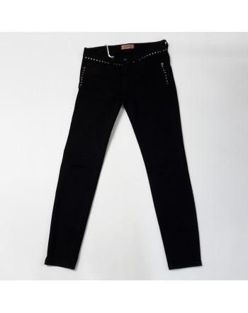 Pantalone jeans KONTATTO nero