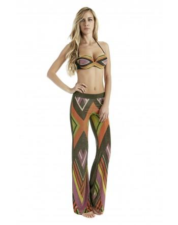 4giveness  pantalone fantasia geometrica