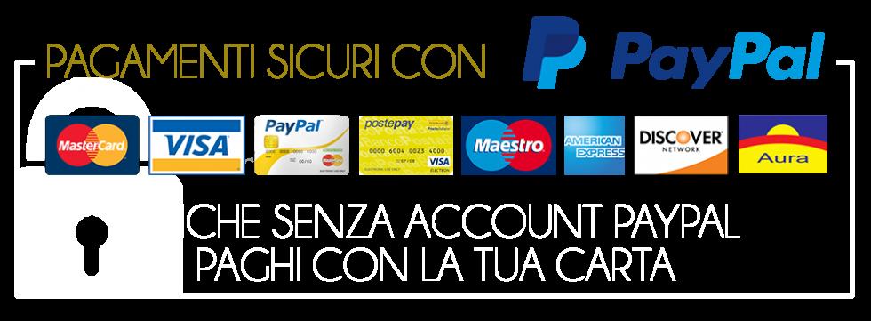 Carriero Abbigliamento - Vendita on line con pay pal carta di credito